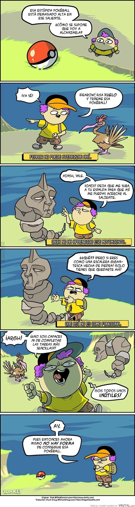 Pokemon Memes En Espaã Ol - vrutal la triste realidad de los entrenadores p 243 kemon