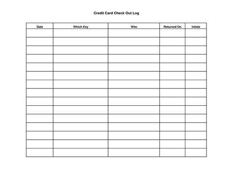 key sign out form template key sign out sheet template scope of work template