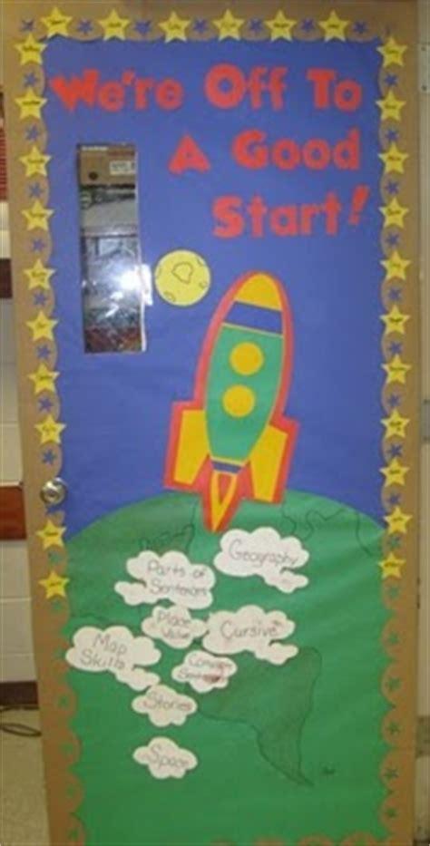 space themed door decorations 53 classroom door decoration projects for teachers