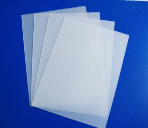 Plastik Laminating 25 Sheet self sealing transparent a4 matt laminating pouches