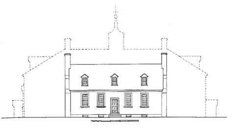 mt vernon architectural drawing with floor plan of the mansion 183 george washington s mount vernon