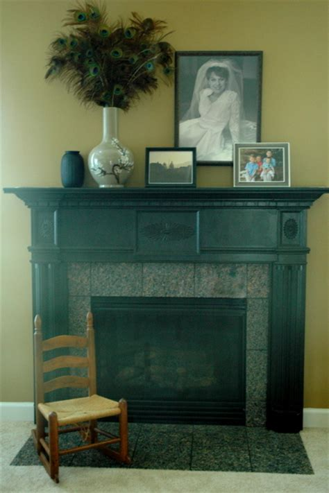 Black Granite Tiles For Fireplace by Loving The Fireplace You Used To The Decorologist