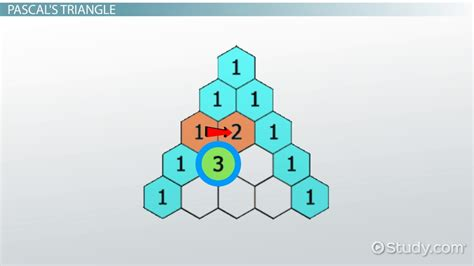 triangle pattern quiz pascal s triangle patterns history video lesson