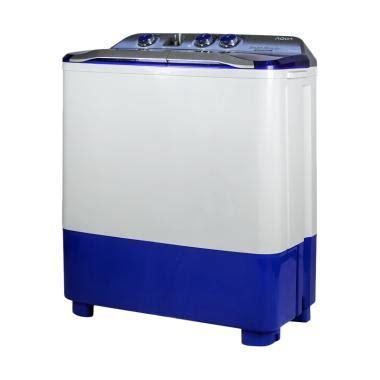 Mesin Cuci Aqua Qw 870xt jual aqua qw 880xt mesin cuci 2 tabung harga kualitas terjamin blibli