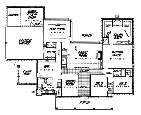 plantation house floor plans darvell southern plantation home plan 060d 0053 house