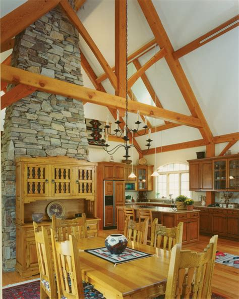 french country rustic dining room  metro