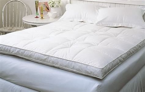 best feather bed full goose down mattress topper featherbed feather bed baffled bed mattress sale