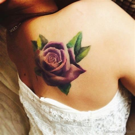 rose tattoo on shoulder blade 79 best shoulder blade tattoos