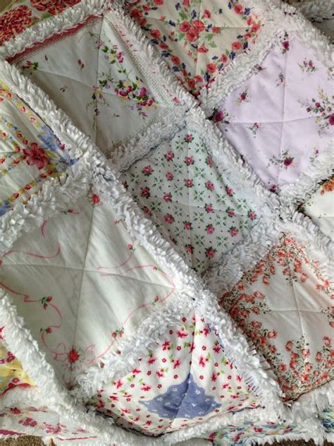 How To Make A Handkerchief Quilt by 10 Images About Hankie Ideas On Vintage