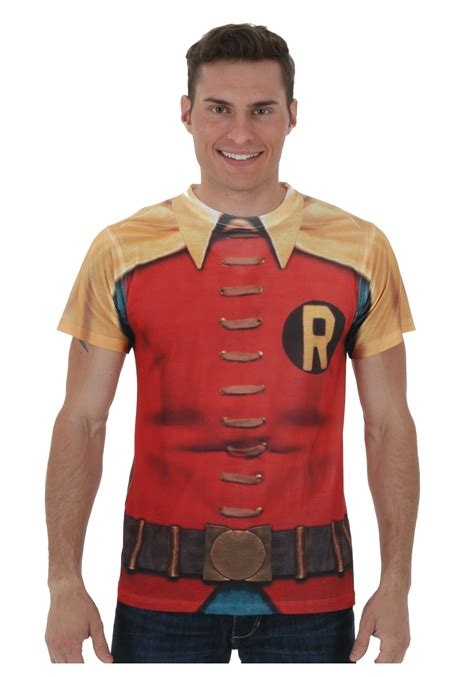 60 s robin sublimated costume t shirt