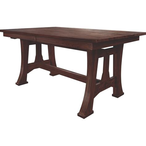 lexington amish dining room table lexington trestle table 48x72 amish crafted furniture