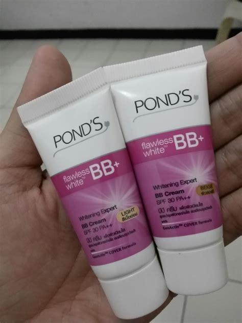 Eyeliner Cair Ponds ponds flawless white bb reymasu