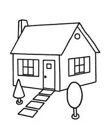 house coloring page 7 houses and homes coloring pages