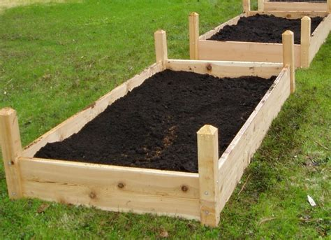 raised garden bed soil add extra soil to raised garden bed