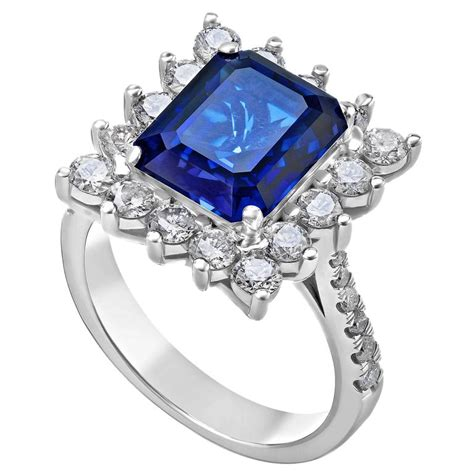 6 88 carat sapphire gold ring for sale at 1stdibs