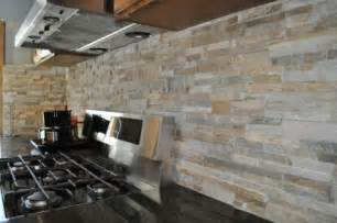 Kitchen Stone Backsplash Gallery For Gt Kitchen Stone Wall Tiles
