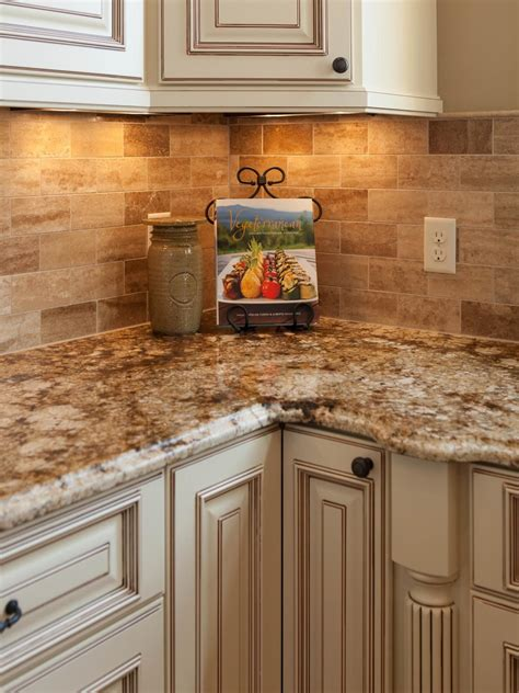traditional kitchen backsplash traditional tuscan kitchen makeover hgtv traditional