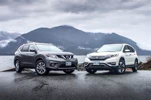Nissan Or Honda Comparison Test 2015 Honda Cr V Vs Nissan Rogue Page 6