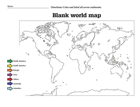 printable label the continents worksheet geography blog geography worksheets continents and oceans