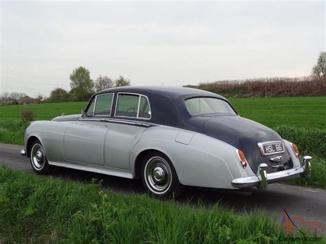 bentley silver cloud bentley s1 sports saloon 1958 shell grey blue pas not