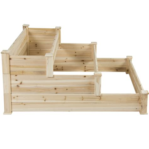 bcp raised vegetable garden bed  tier elevated planter