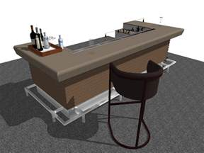 Home Bar Width Standard Commercial Bar Dimensions Typical Heights Ag