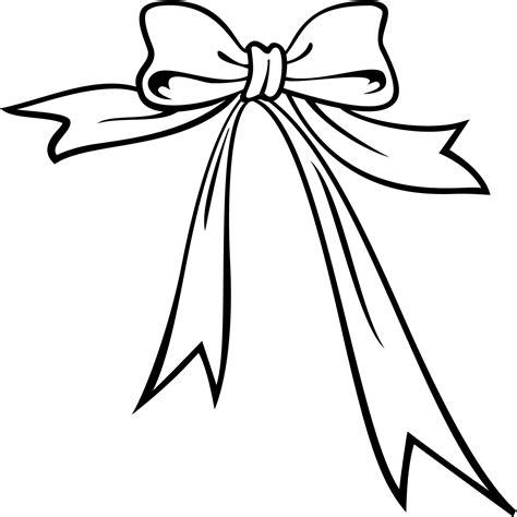 clipart da colorare vector bow clipart best