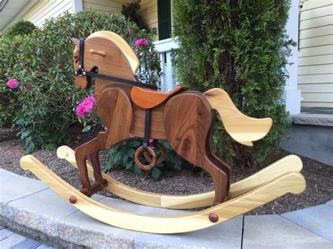 Handmade Rocking For Sale - wooden rocking cavallo napolitano handmade