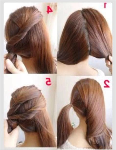 quick and easy unique hairstyles 2018 popular quick long hairstyles for work