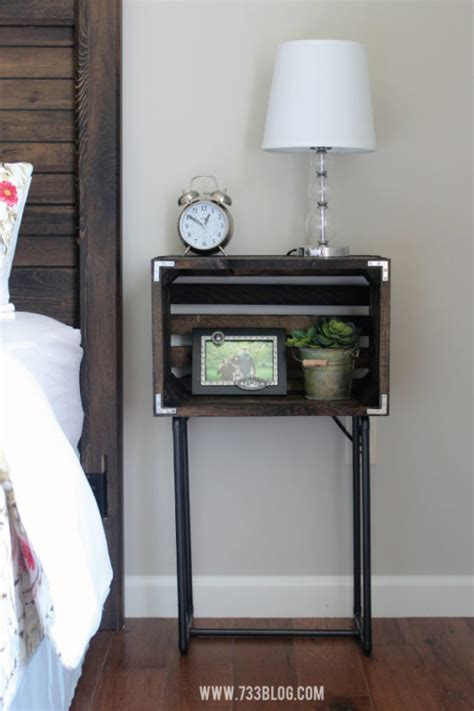 functional diy nightstand builds  instantly impress