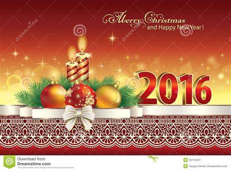 imagenes feliz navidad 2016 feliz navidad 2016 ilustraci 243 n del vector imagen 55113441