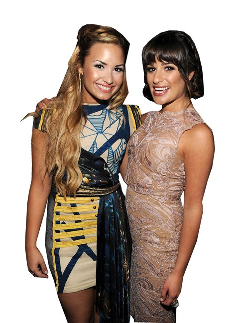 demi lovato and lea michele world edits demi lovato lea michele png