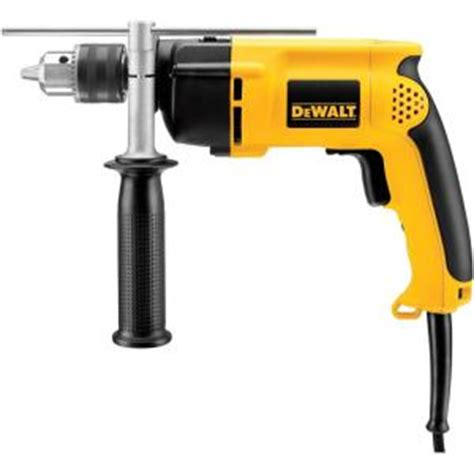 dewalt 1 2 in vsr hammer drill dw511 the home depot