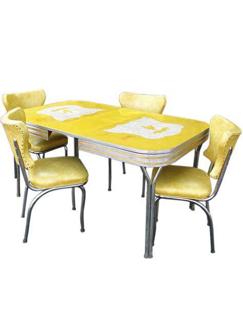 the formica table and chairs with attractive design