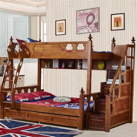 Country Bunk Beds with Webetop American Country Style Bunk Bed Bed Type Trailer Bed High Tank