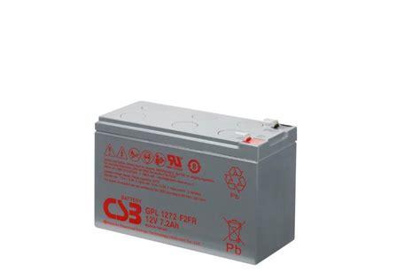 Battery Aki Ups Csb 12v 7 2ah Murah csb gpl1272 12v 7 2ah 10yrs service sealed lead acid ups nbn battery ebay