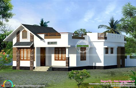 facing vastu home single floor kerala home design