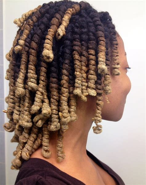 how to do puming hairs lady loc pipe curls beautiful dreadlock styles