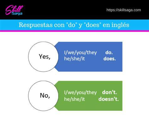 preguntas en ingles do does c 243 mo usar el verbo auxiliar quot do quot en ingl 233 s skillsaga