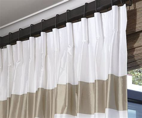 cartridge pleat drapery cartridge drapery pleat window treatments pinterest