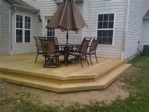 simple wood deck 25 best ideas about back deck designs on deck
