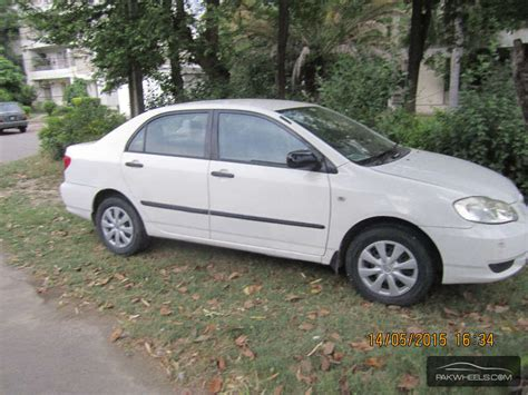 Sale Toyota Corolla Used Toyota Corolla 2004 Car For Sale In Lahore 1150272