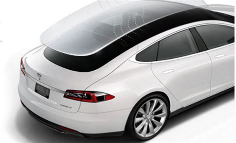 Tesla Glass Roof Model 3 May Solar Roof That Can Charge The Vehicle