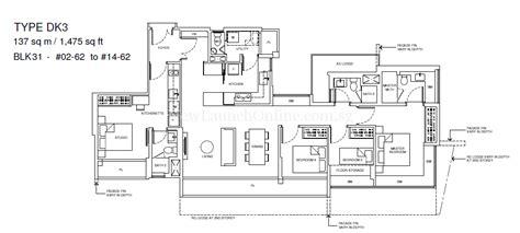 coco palms floor plan coco palms 4 bedroom dual key floor plan type dk3