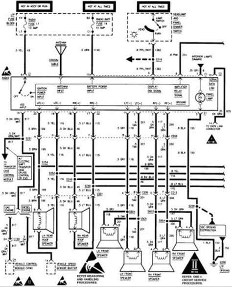 radio wiring diagram on 1995 corvette images wiring