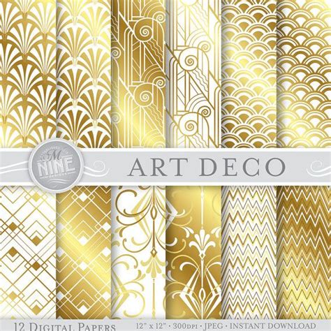 printable art deco paper art deco pattern gold www imgkid com the image kid has it