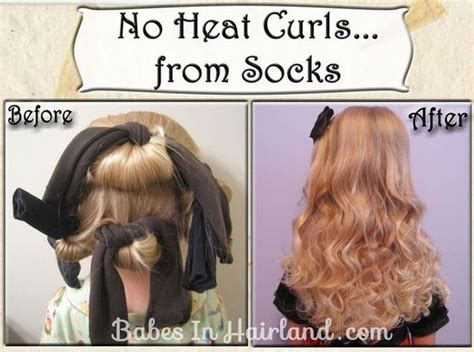 diy hairstyles without heat how to have curly hair without heat