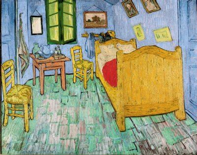 vincent van gogh the bedroom 1889 in an artist s life death is perhaps no by vincent van
