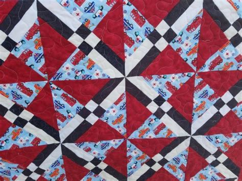 Fireman Quilt Pattern by Fireman Quilt Finished