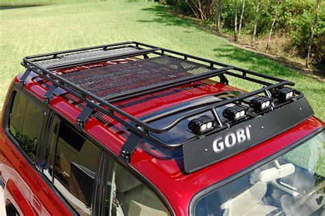 Land Cruiser 80 Series Roof Rack by Gobi Toyota Land Cruiser Series 80 Stealth Roof Rack Glc80stl Toyota Land Cruiser 80 Gobi